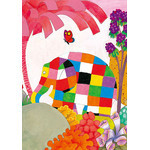 David McKee - Elmer and Butterfly 300 Micro Piece Jigsaw Puzzle