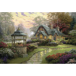 Thomas Kinkade - Make a Wish Cottage 1000 Piece Jigsaw Puzzle