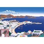 Thomas McKnight - Mykonos Panorama 1000 Micro Piece Jigsaw Puzzle