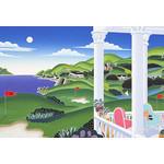 Thomas McKnight - Seaside Golf 1000 Micro Piece Jigsaw Puzzle