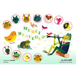 Alain Gree - Merci Beaucoup 300 Micro Piece Jigsaw Puzzle
