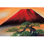Fuji at Dawn - Japanese Design 1000 Piece Jigsaw Puzzle