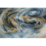All-Seeing Dragon of the Clouds - Japanese Design 2000 Piece Jigsaw Puzzle
