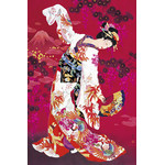 First Dance - Japanese Design 1000 Piece Jigsaw Puzzle