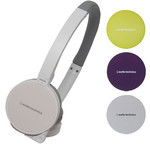 Audio-Technica ATH-WM55 WH Interchangeable Color Fashion Headphones (White + 3 Colors)