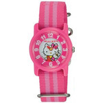CITIZEN Q&Q - Hello Kitty Watch - VQ63-130 (Striped Pink)
