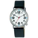 Citizen Q&Q - Universal Design Ultra Light Watch with Luminous Face W676-355 (Black)