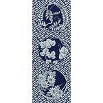 Leaves - Tenugui (Japanese Multipurpose Hand Towel)