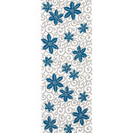 Tessen Karakusa - Tenugui (Japanese Multipurpose Hand Towel) - Cerulean