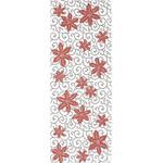 Tessen Karakusa - Tenugui (Japanese Multipurpose Hand Towel) - Crimson