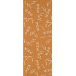 Pine Needles - Tenugui (Japanese Multipurpose Hand Towel) - Amber