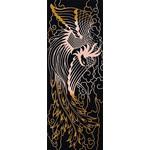 Phoenix - Tenugui (Japanese Multipurpose Hand Towel) - Gold
