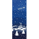 Silent Night - Mini Tenugui (Japanese Multipurpose Hand Towel)