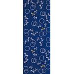 Dragonflies in the Autunm - Mini Tenugui (Japanese Multipurpose Hand Towel) - Blue