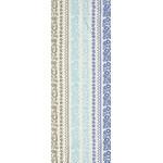 Ukulele - Mini Tenugui (Japanese Multipurpose Hand Towel) - Blue
