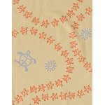 Honu - Mini Tenugui (Japanese Multipurpose Hand Towel) - Yellow