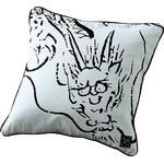 Dragon Cushion  - White