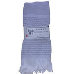 All Season Binchotan Scarf  - White