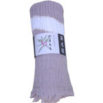 Naturally Dyed Cotton Scarf  - Gray