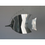 MOBIO Angel Fish Hanging Mobile (Silver)