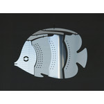 MOBIO Mini Butterfly Fish Hanging Mobile (Silver)
