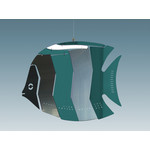 MOBIO Angel Fish Hanging Mobile (Green/Silver)