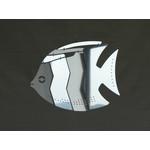 MOBIO Mini Angel Fish Hanging Mobile (Silver)
