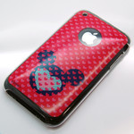 iPhone 3G/3GS Disney Character Jacket (Mickey Heart)