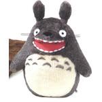 Roaring O-Totoro Plush Dark Gray (LL)