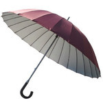 Arashi - Ultralight 24 Rib Umbrella (Wine Red)