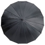 mabu - Ultralight 16 Rib Umbrella Irodori (Black Diamond)