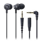 Audio-Technica - ATH-CKM33 Earbuds (BK)