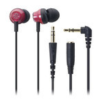 Audio-Technica - ATH-CKM33 Earbuds (RD)