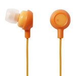 ELECOM Canal-Type Earphones EHP-IN10DR (Orange)