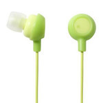 ELECOM Canal-Type Earphones EHP-IN10GN (Green)