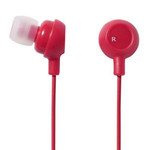ELECOM Canal-Type Earphones EHP-IN10RD (Red)