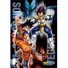 Dragonball Z - Goku VS Vegeta 108 Large Piece Jigsaw Puzzle