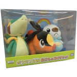 Pokemon - Snivy, Oshawot and Tepig Plush Set