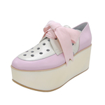 BELLY BUTTON No.923 / Pink Ivory Platforms