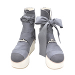 BELLY BUTTON No.921 / Gray Platform Boots