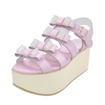 BELLY BUTTON No.931 / Pink Platform Sandals