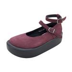 BELLY BUTTON No.872 / Purple Nubuck Shoes