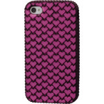 iPhone 4/4S Chocolate Heart Silicone Case
