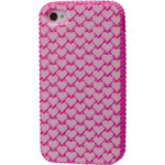iPhone 4/4S Strawberry Heart Silicone Case