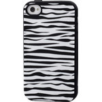iPhone 4/4S Animal Silicone Case - Zebra