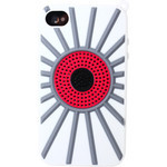 iPhone 4/4S Darts Silicone Case - White