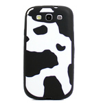 GALAXY S3 Animal Silicone Case - Bovine