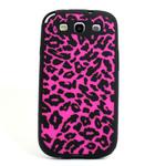 GALAXY S3 Animal Silicone Case - Pink Cheetah