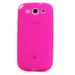 GALAXY S3 TPU Shell Case - Translucent Pink