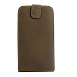GALAXY S3 Vertical Folding Leather Case - Brown